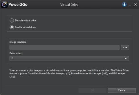 how to create a virtual drive