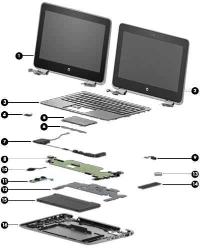 HP 3115m E-300 Motherboard 659510-001 662983-001