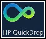 HP QuickDrop icon
