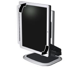 HP L1750 / L1950 / L1710 / L1910 / L1908w / L1908wm / L1945w / L1945wv /  L2208w / L2245w / L2445w LCD Monitors - Setting Up the Monitor | HP®  Customer Support