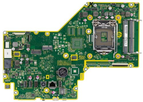 Palau-UF motherboard top view