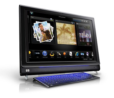 Image of the HP TouchSmart IQ826t Desktop    PC