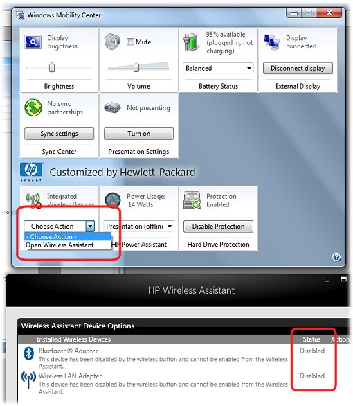 hp wireless assistant windows 7 free