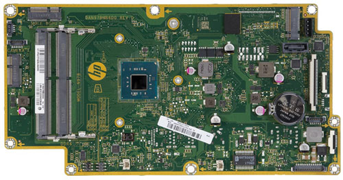 Lazio motherboard top view