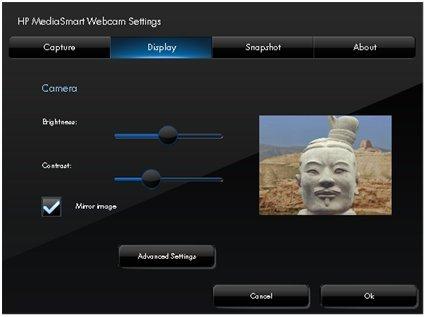Using webcam hp