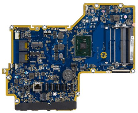 Top view of Compressor-LU motherboard