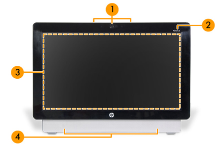 Image of the front of the system