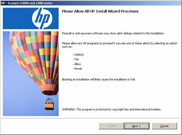 hp scanjet g4010 installation software free download