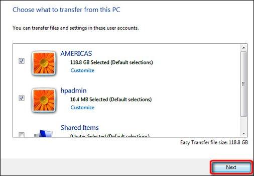 windows easy transfer xp 32 bit