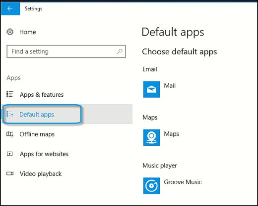 HP PCs - Changing the Default Apps (Windows 10) | HP® Customer Support