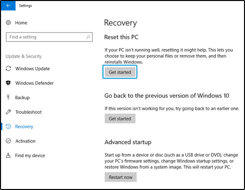 Hp pcs computer is slow windows 10 hp customer support resetting the pc ccuart Choice Image