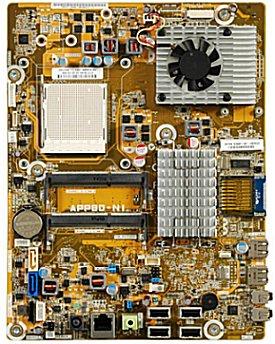 Imagen de la placa base