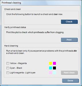 HP Latex 3000 Printer Series - Check and clean the printheads | HP