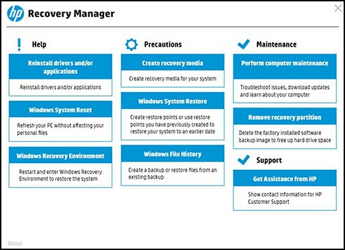 Recovery Manager - Стандарт