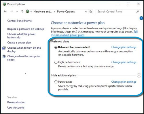 HP Desktop PCs - Managing Power Options (Windows 10) | HP