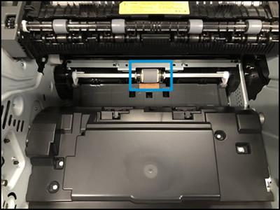 Impressoras com o cilindro localizado sob os cartuchos
