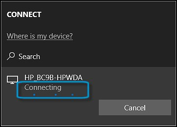 HP PCs - Sharing Your Screen Using Miracast (Windows 10