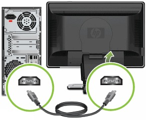 HP and Compaq Desktop PCs - Connecting Speakers or Headphones ...