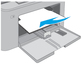 Loading plain paper in the priority input tray