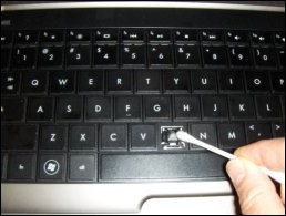 Cleaning the key and its slow in the keyboard