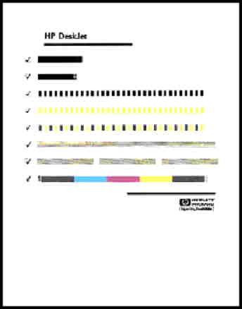imprimante hp deskjet s rie 930c impression d 39 une page de test assistance client le hp. Black Bedroom Furniture Sets. Home Design Ideas
