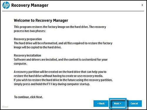 HP PCs - Performing a System Recovery (Windows 10) | HP® Customer