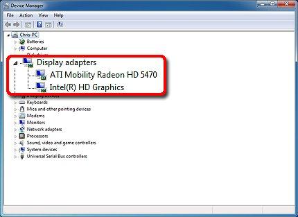 ati mobility radeon hd 5470 graphics (switchable) driver windows 7