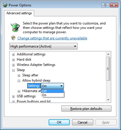 HP and Compaq Desktop PCs - Resolving Problems with Sleep