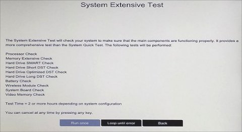 系統全面測試
