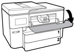 Example of opening the ink cartridge access door