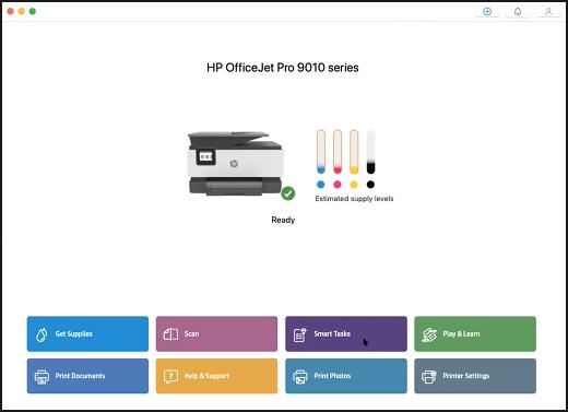 Impresoras HP - Instalación y uso de la aplicación HP Smart (Mac) | Soporte al cliente de HP®
