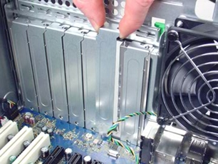 HP Z200 Workstation - Removing and Replacing the PCI Card | HP