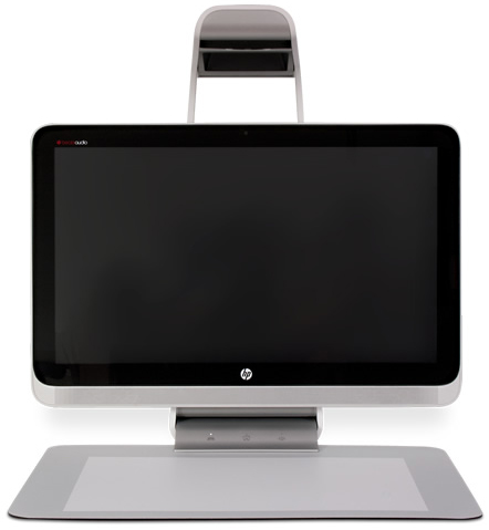 Front view of Sprout Immersive 23-s309 Computer by HP