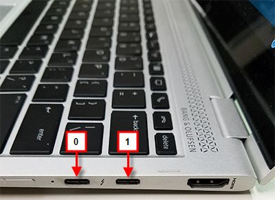 USB-C Ports 0 and 1