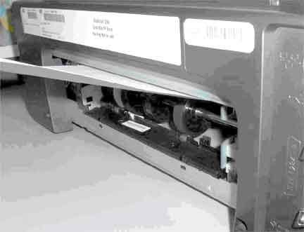 HP Business Inkjet 1200 Printer Series - False Paper Jam