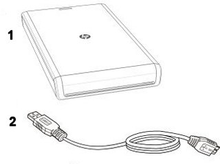 Image of the HP Pocket Media Drive