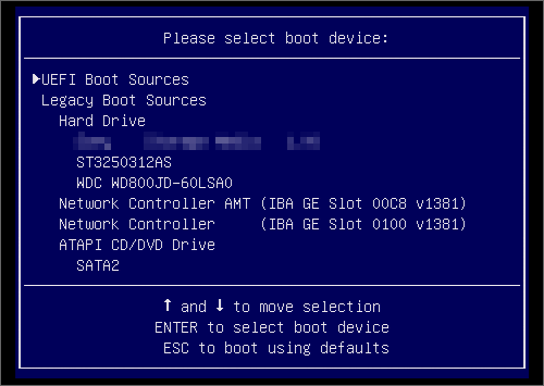 how to run hp insight diagnostics offline
