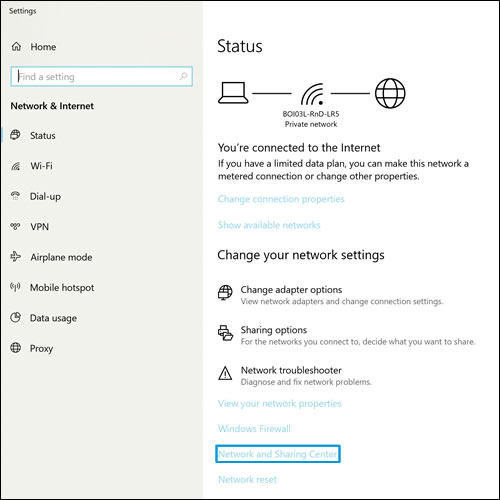 change from public to home network windows 8