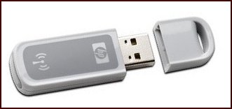 A  USB Bluetooth dongle