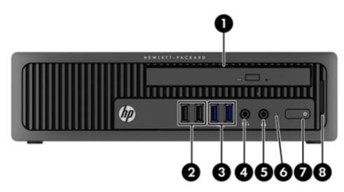 Hp Elitedesk 800 G1 Ultra Slim Desktop Business Pc Identifying Components