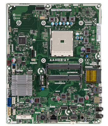 Image of motherboard