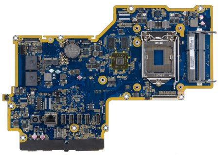 Crusher-2G motherboard top view