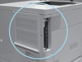 HP Color LaserJet Enterprise M552, M553, HP Color LaserJet Managed