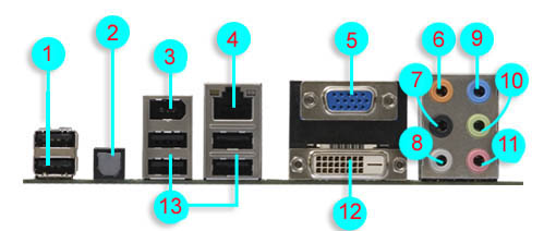 how to connect audio ports to motherboard