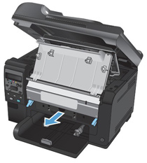 remove the imaging drum - Laserjet 100 Color Mfp M175nw