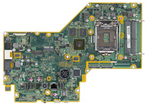 Palau-4GQ motherboard top view