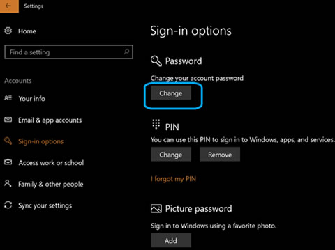 how to use pin to sign in to windows 10