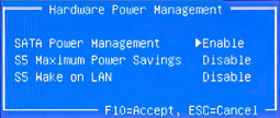 Hardware Power Management