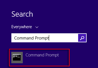 Search results for Command Prompt