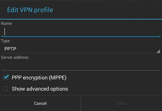 Editar o perfil da VPN